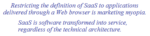 what is saas