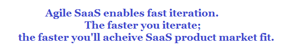 saas product market fit customers